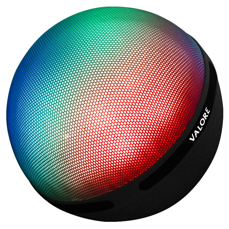 Valore-Aurora-Wireless-Speaker-With-Moodlight-(BTS21)-Grey-mix-colour-mode