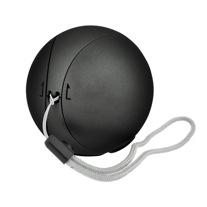 Valore-Ball-Shaped-Wireless-Speaker-(BTS298)-hand-strap-black