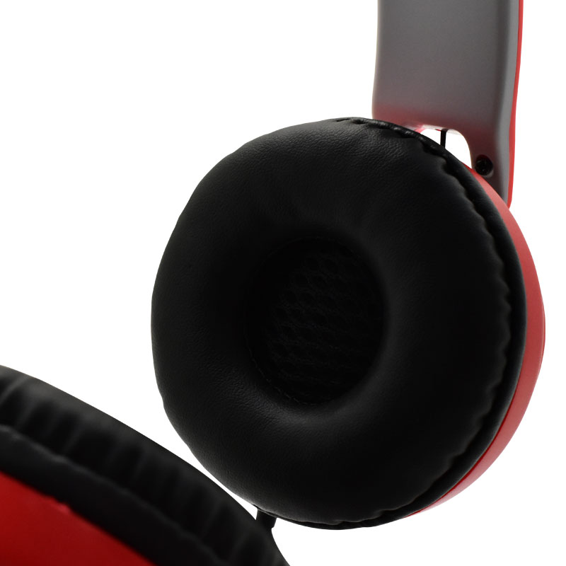 Valore-Bullfinch---On-Ear-Headphone-(HS0017)-Red-Ear-pad