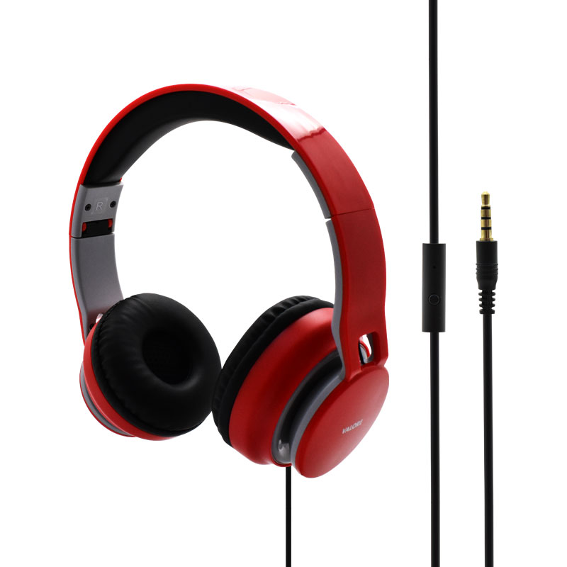 Valore-Bullfinch---On-Ear-Headphone-(HS0017)-Red