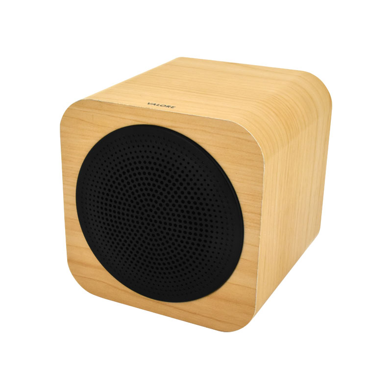 Valore-CUBE---Wooden-Wireless-Speaker-(BTS09)-Wooden