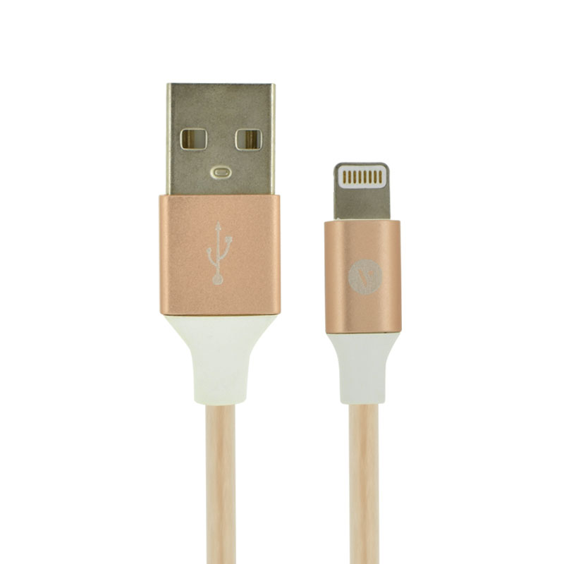 Valore-Charge-&-Sync-Connector-Cable-Rose-Gold(MA06)