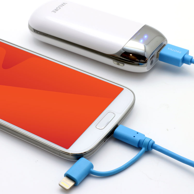 Valore-Charge-and-Sync-Lightning-Cable-with-Micro-USB-Connector-(V-MA138)-Micro-USB-Phone
