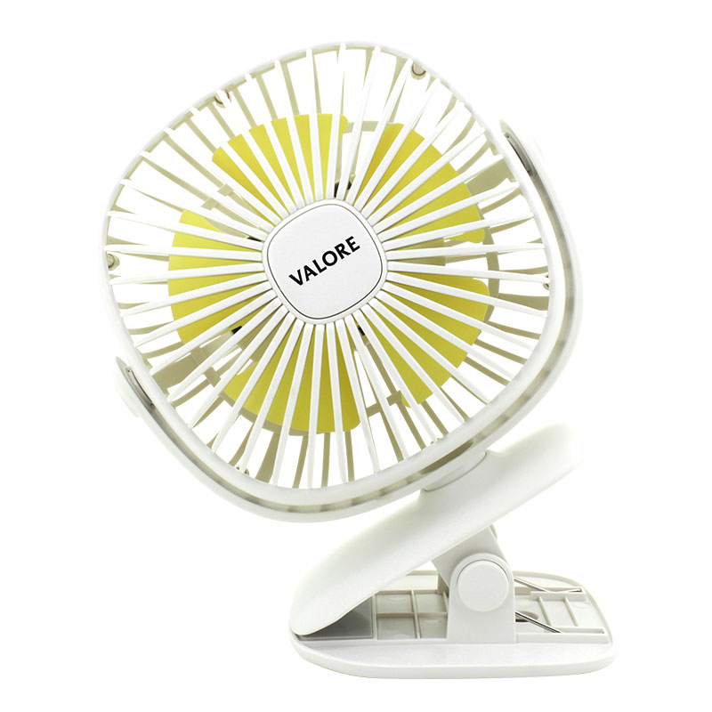 Valore-Clip-On-Fan-With-Night-Light-Function-(AC75)-White-Rotatable