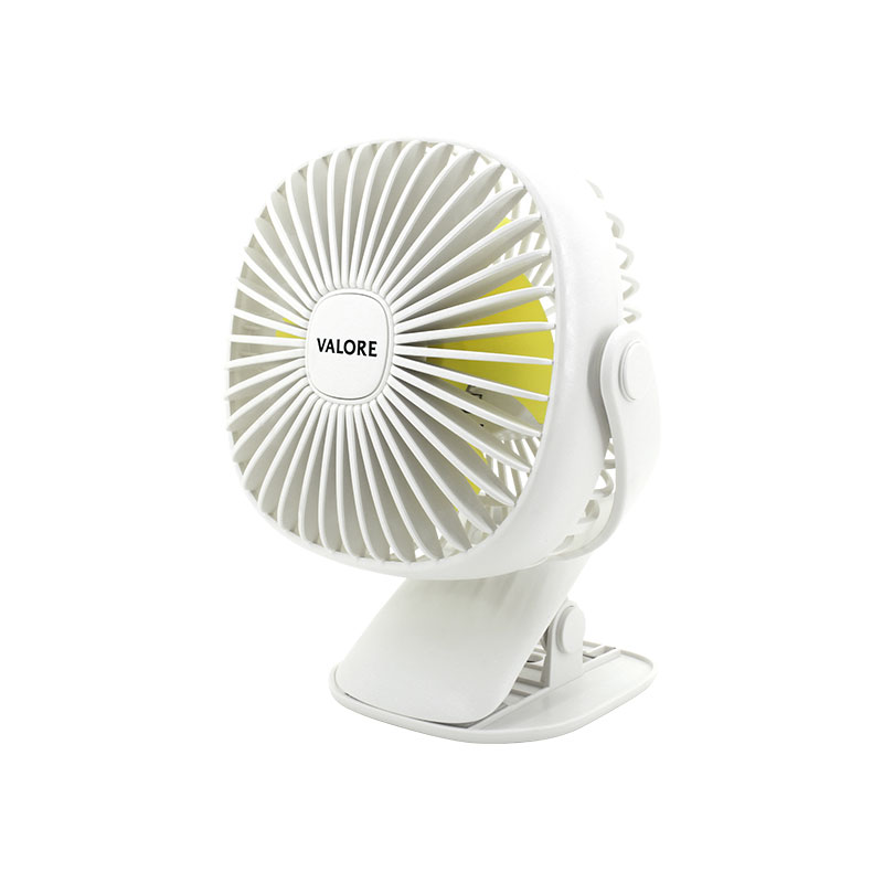 Valore-Clip-On-Fan-With-Night-Light-Function-(AC75)-White
