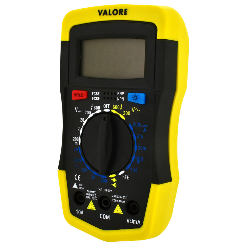 Valore-Digital-Multimeter-(LA14)-Controls