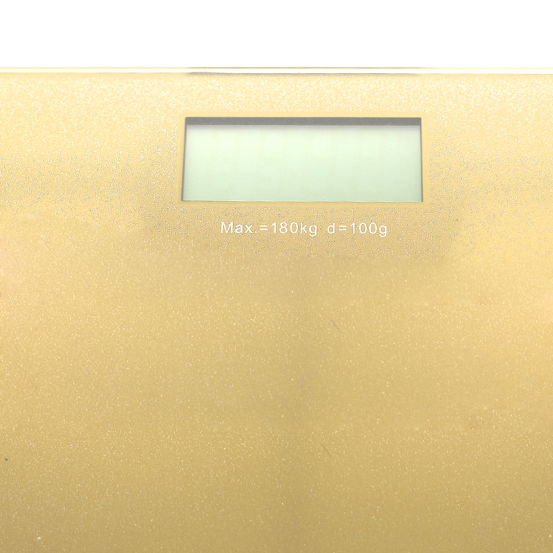 Valore-Digital-Weighing-Scale-Champagne-Gold-display-(VF-003)
