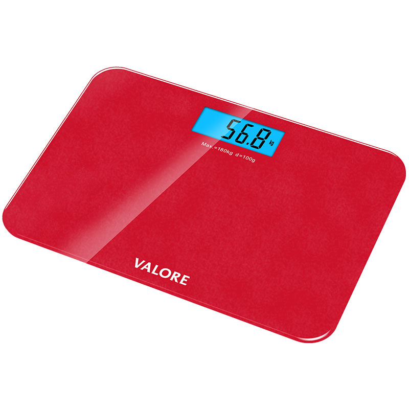 Valore-Digital-Weighing-Scale-Red-(VF-003)