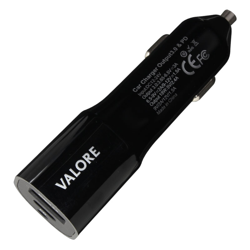Valore-Dual-Port-Car-Charger-(AC83)-top
