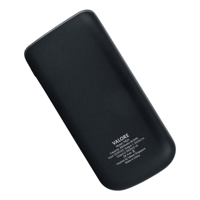 Valore-ELEGANCE---8000mAh-Power-Bank-(PB23)-Black-back