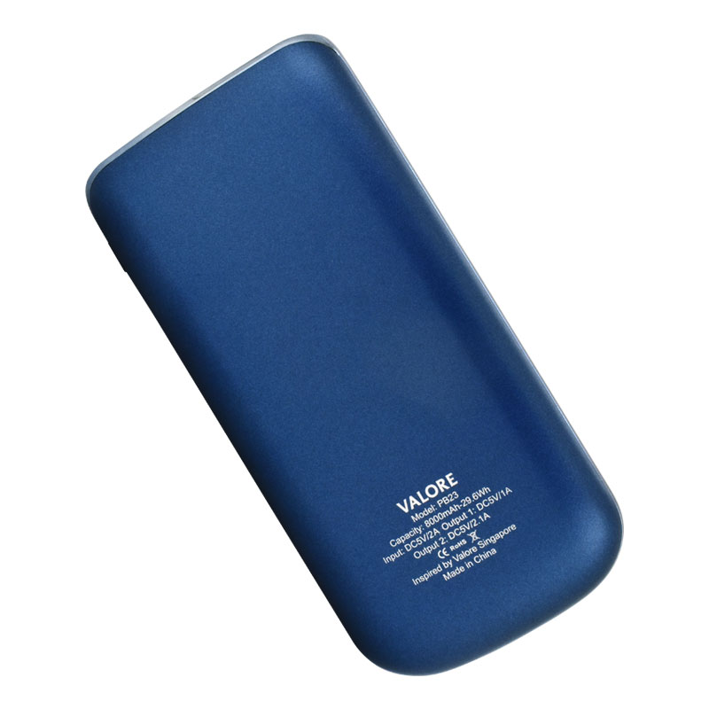 Valore-ELEGANCE---8000mAh-Power-Bank-(PB23)-Blue-back
