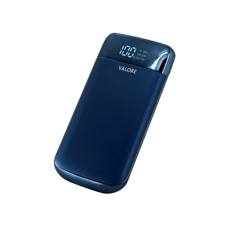 Valore-ELEGANCE---8000mAh-Power-Bank-(PB23)-Blue