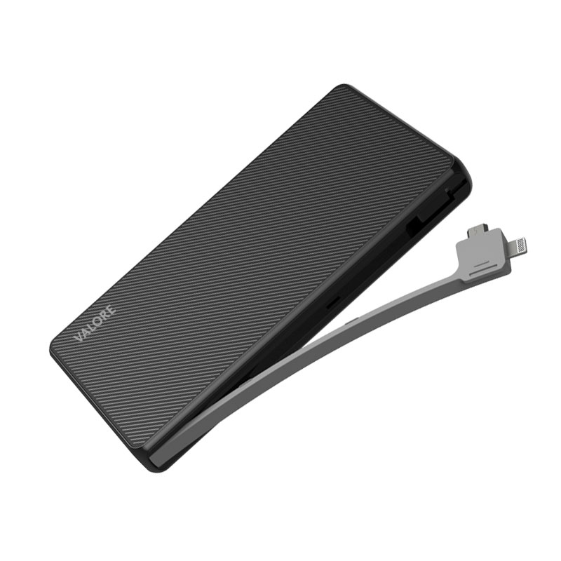 Valore-Emu---10000mAh-Power-Bank-(PB17)-Black