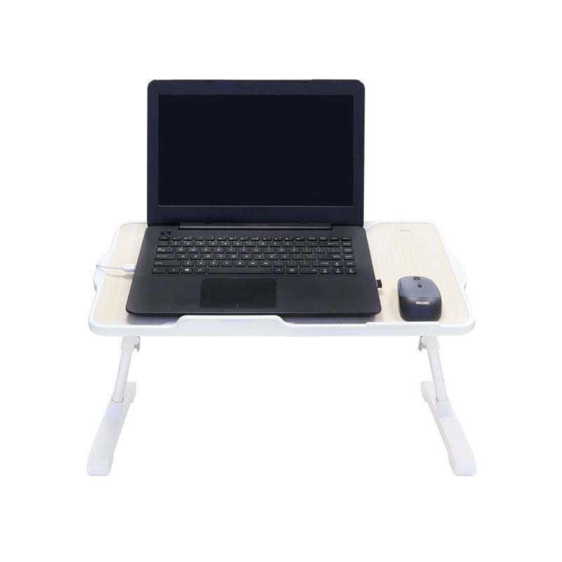 Valore-Foldable-Laptop-Desk-With-Built-in-Cooling-Pad-(AC142) Front