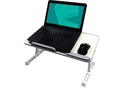 Valore Foldable Laptop Desk With Built-in Cooling Pad (AC72)