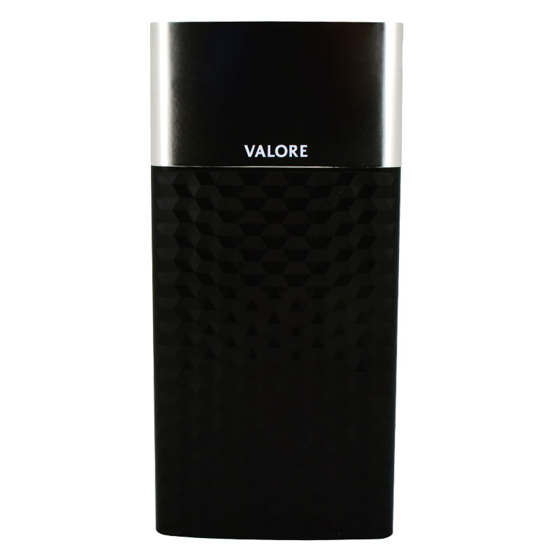 Valore-GEOMETRY---1000mAh-Power-Bank-(PB24)-Black-Front