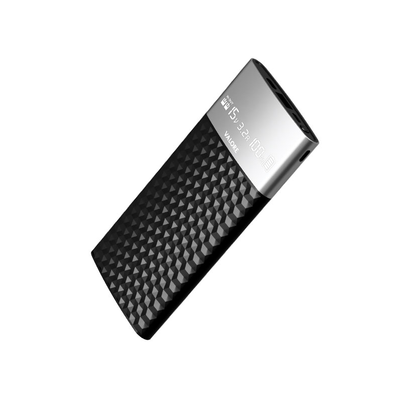 Valore-GEOMETRY---1000mAh-Power-Bank-(PB24)-Black