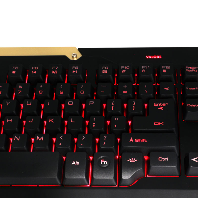 Valore-Gaming-Keyboard-(AC08)-LED-keys