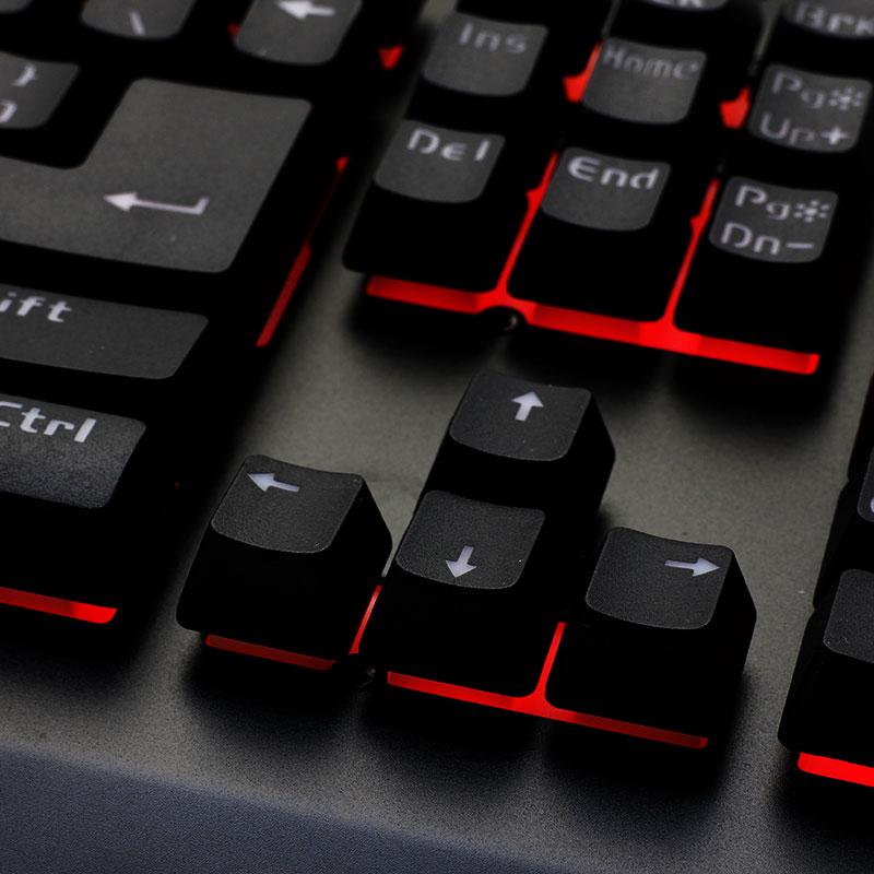 Valore-Gaming-Keyboard-V-AC09-Red-LED-Light
