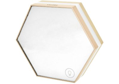 Valore Honeycomb 3-in-1 Multi-functional LED Clock (LA10)