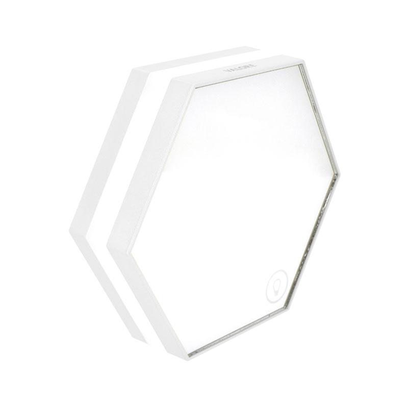 Valore-Honeycomb-3-in-1-Multi-functional-LED-Clock-(LA10)-White-left