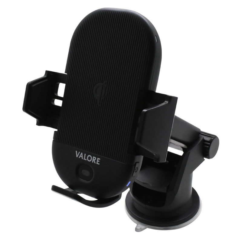 Valore-Infrared-Sensor-Wireless-Charging-Smartphone-Car-Holder-(AC84)-Extended-clamp