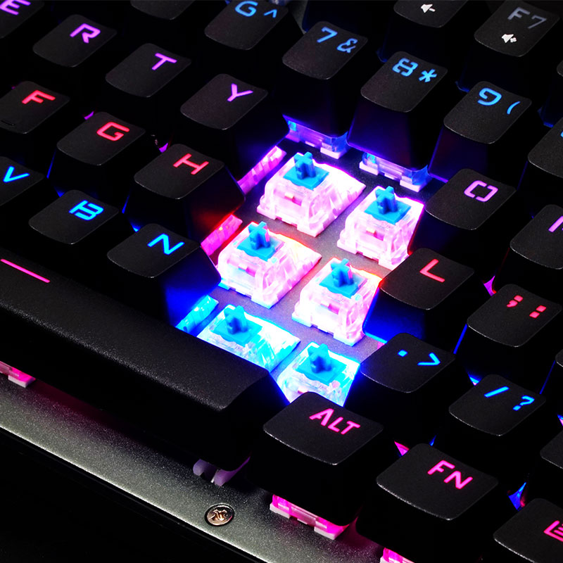 Valore-Krypton-Mechanical-Gaming-Keyboard-(AC28)-Blue-Cherry-MX