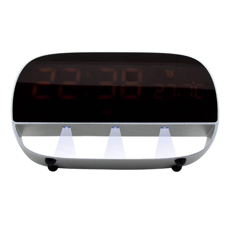 Valore-LED-Clock-With-Night-Light-Function-(LA20)-Black-night-light