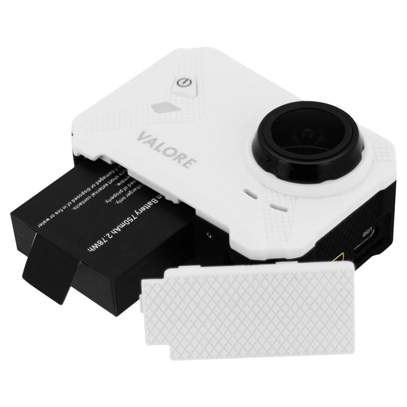 Valore-Maximal---1080P-Full-HD-WiFi-Action-Camera-(VMS56)-White-battery