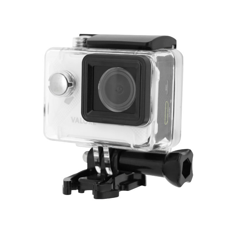 Valore-Maximal---1080P-Full-HD-WiFi-Action-Camera-(VMS56)-White-with-case