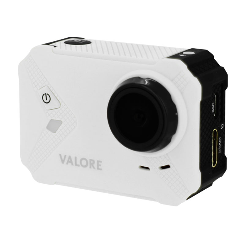 Valore-Maximal---1080P-Full-HD-WiFi-Action-Camera-(VMS56)-White-without-case