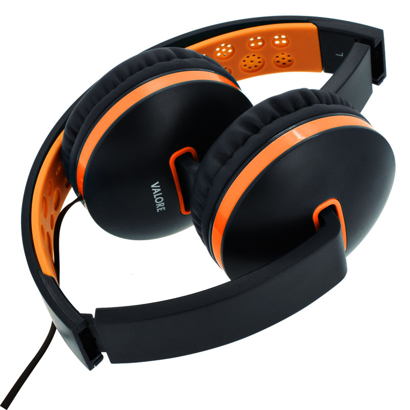 Valore-Melo-tune---Music-Headset-(Black)-Folded