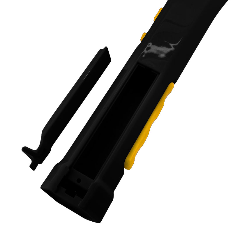 Valore-Mosquito-Swatter-Yellow-(AC25)-Battery-compartment