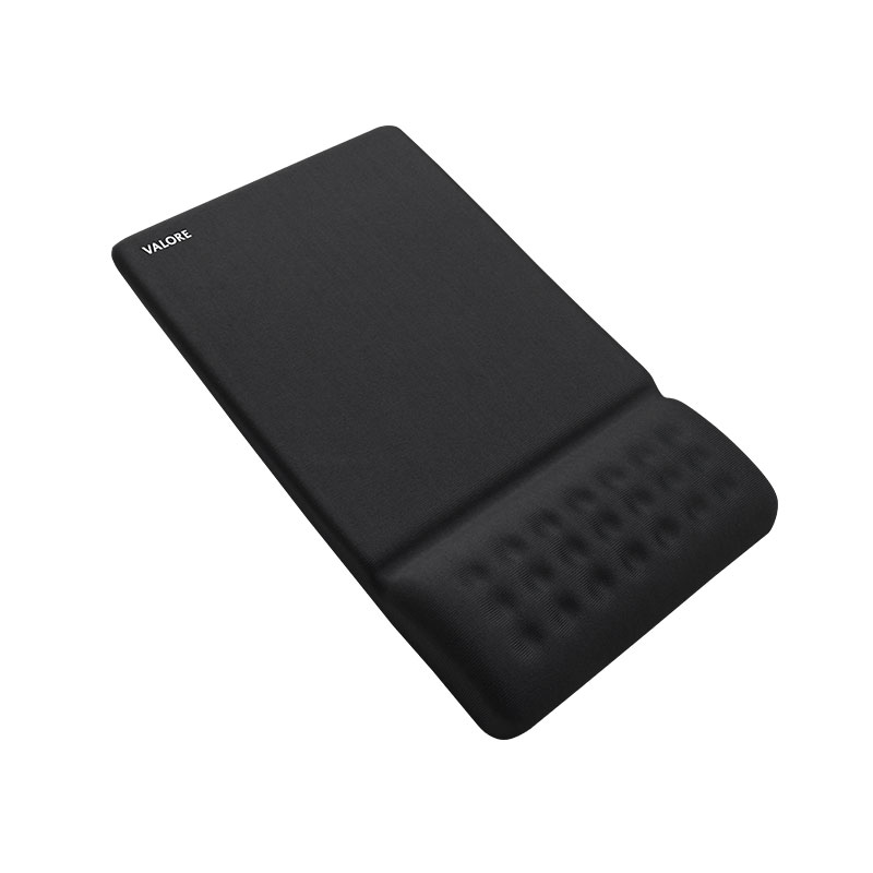 Valore-Mouse-Pad-With-Wrist-Pad-Black(AC59)