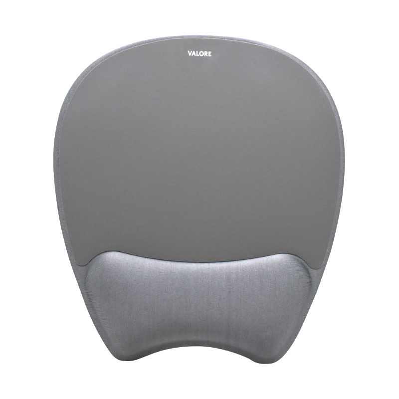 Valore-Mouse-Pad-With-Wrist-Support-(AC77)-flat-grey