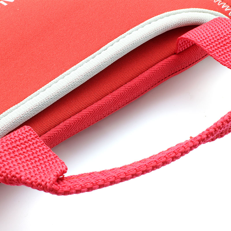 Valore-Neoprene-Carrying-Case-V-MA158-Red-Handle-and-pocker