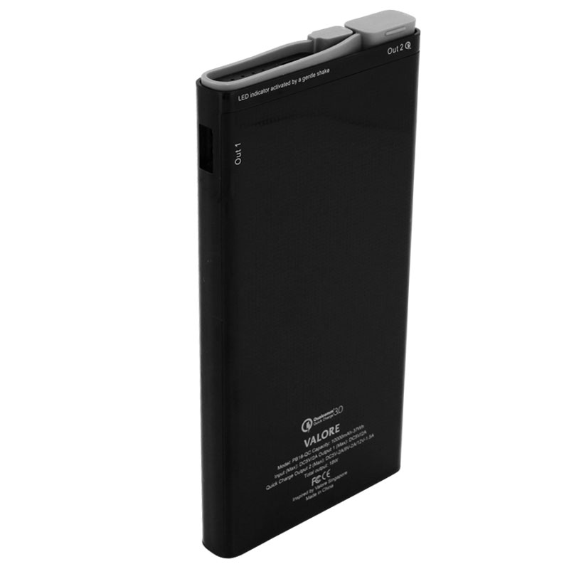 Valore-Peregrine---Qualcomm-Quick-Charge-10000mAh-Power-Bank-(PB18-QC)-Black-back