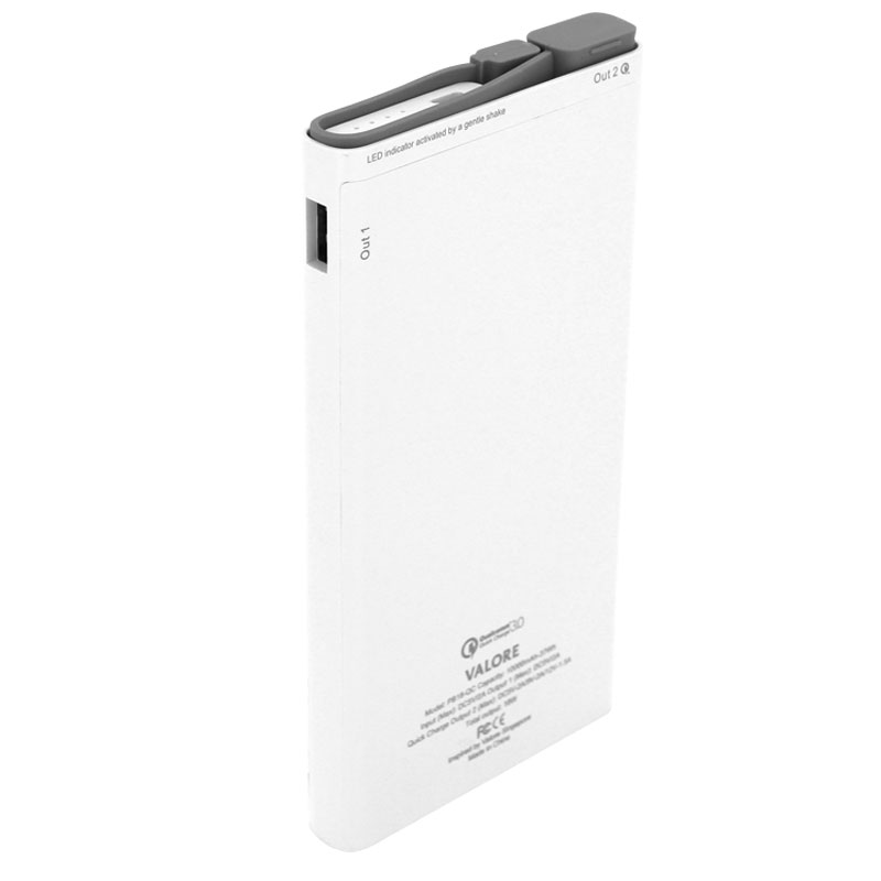 Valore-Peregrine---Qualcomm-Quick-Charge-10000mAh-Power-Bank-(PB18-QC)-White-back