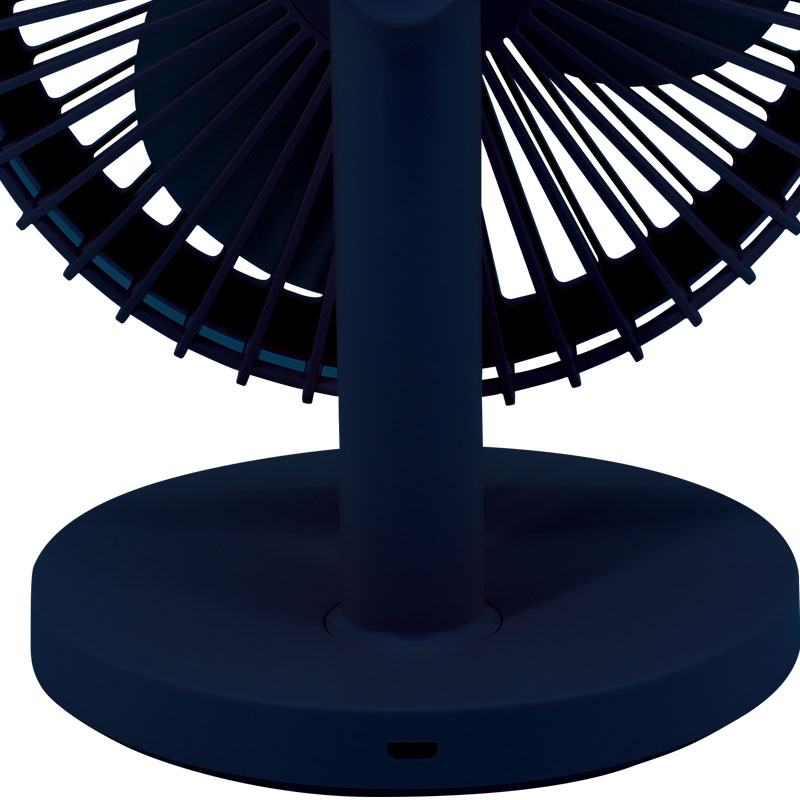 Valore-Portable-Fan-(AC82)-Dark-Blue-Charging-port