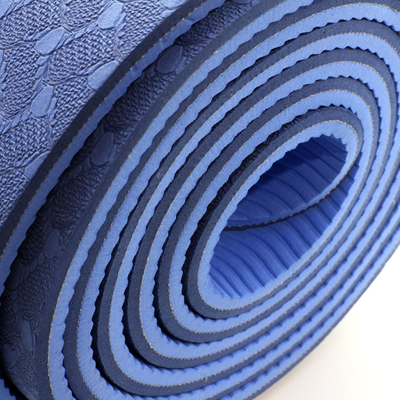 Valore-Premium-Reversible-Yoga-Mat-6mm-VHA-003-Blue-Close-Up