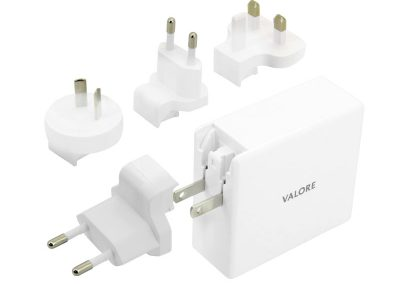 Valore QC3.0 USB + 60W USB-C Travel Adaptor Kit (AC-PD60W)