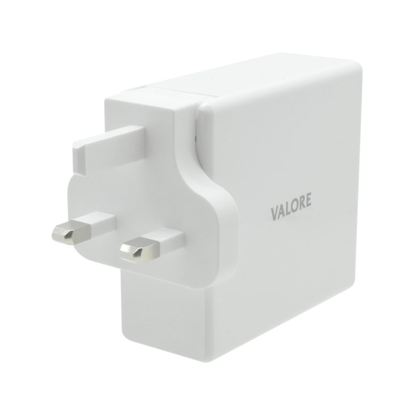 Valore-QC3.0-USB-+-60W-USB-C-Travel-Adaptor-Kit-(AC-PD60W)-UK