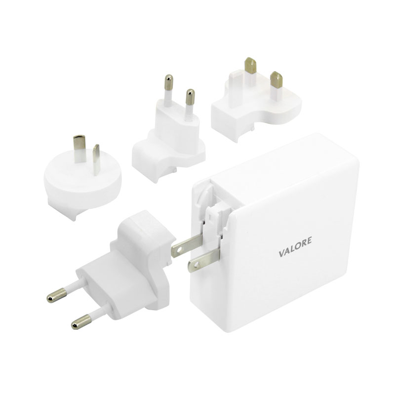 Valore-QC3.0-USB-+-60W-USB-C-Travel-Adaptor-Kit-(AC-PD60W)