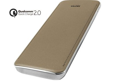 Valore Quick Charge 2.0 8000mAh Power Bank With LED Torchlight (PB06-QC)