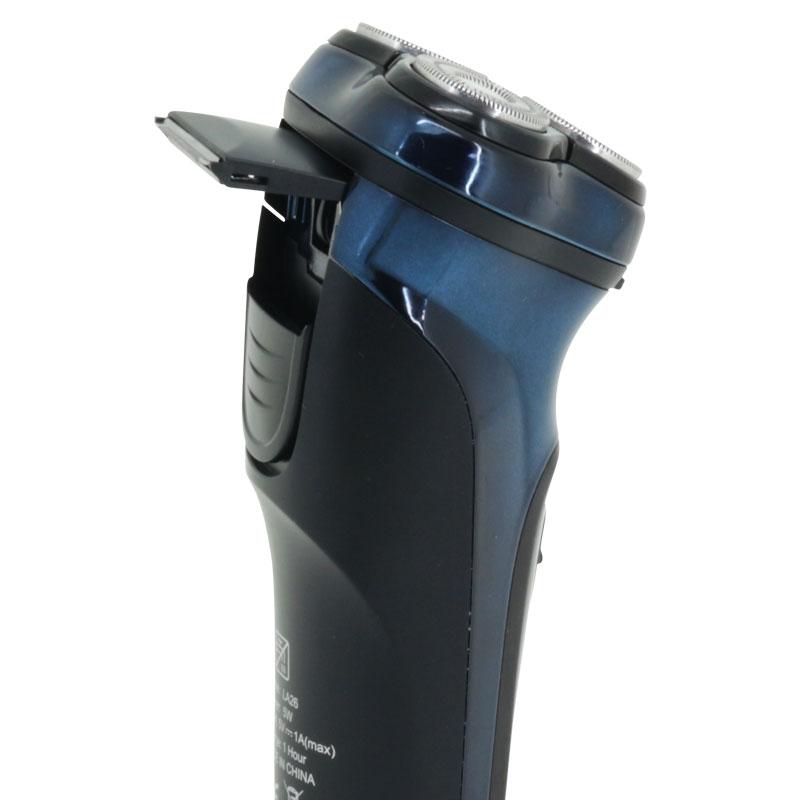 Valore-Rechargeable-Triple-Blade-Electric-Shaver-(LA26)-Pop-Up-Trimmer