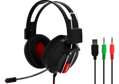 Valore Red Iris – Gaming Headset With Mic (HS0013)