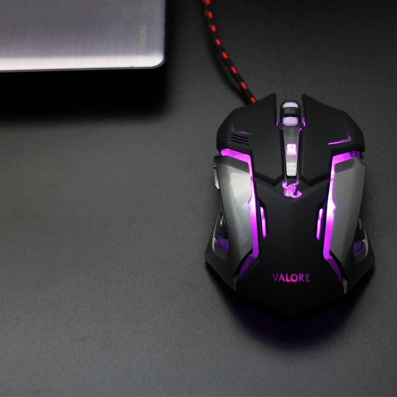 Valore-Scorpion-Gaming-Mouse-Purple-LED