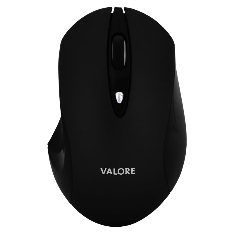 Valore-Silent-Wireless-Mouse-(AC43-Black-front