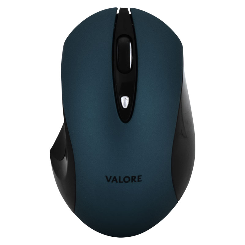 Valore-Silent-Wireless-Mouse-(AC43-Blue-front