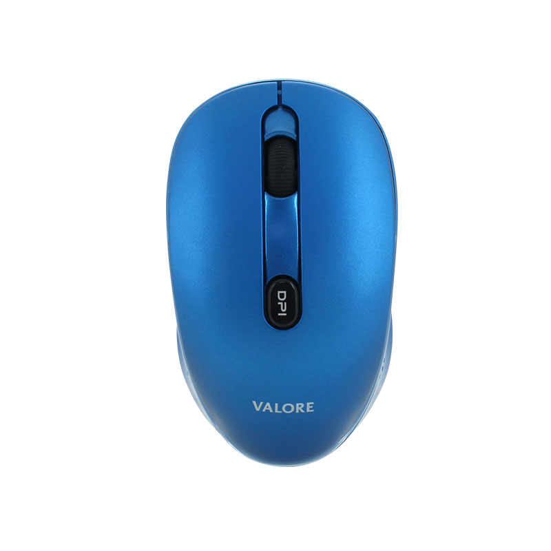 Valore-Silent-Wireless-Mouse-With-USB-C-Receiver-(AC87)-Blue